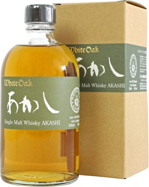 Akashi Single Malt White Oak - Best Japanese Whisky 2021