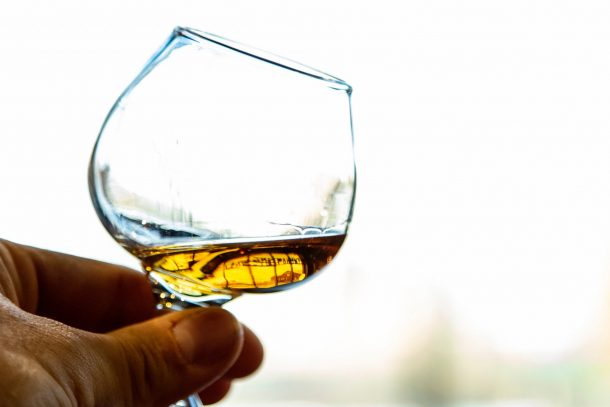 glass of Japanese Whisky