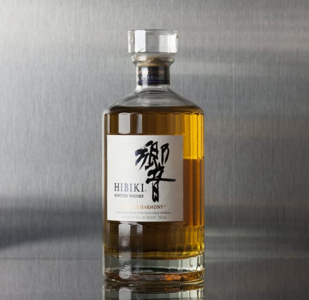 Bottle of Hibiki Harmony whisky