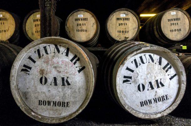 Big barrels off mizunara oak