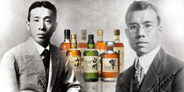 Historic image of Shinjiro Torii and Masataka Taketsuru