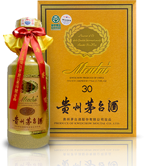 Kweichow Moutai 30 Year Bottle and Box