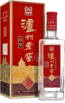 LUZHOU LAOJIAO BAINIAN Bottle and box