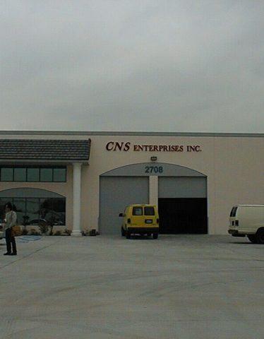 Original CNS headquarters.