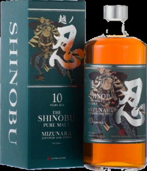 Bottle of Shinobu 10 Year