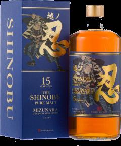 Bottle of Shinobu aged 15 years