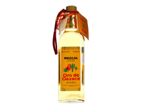 Bottle of Oro De Oaxaca