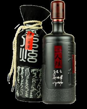 Bottle of Luzhou Laojiao Sanrenxuan